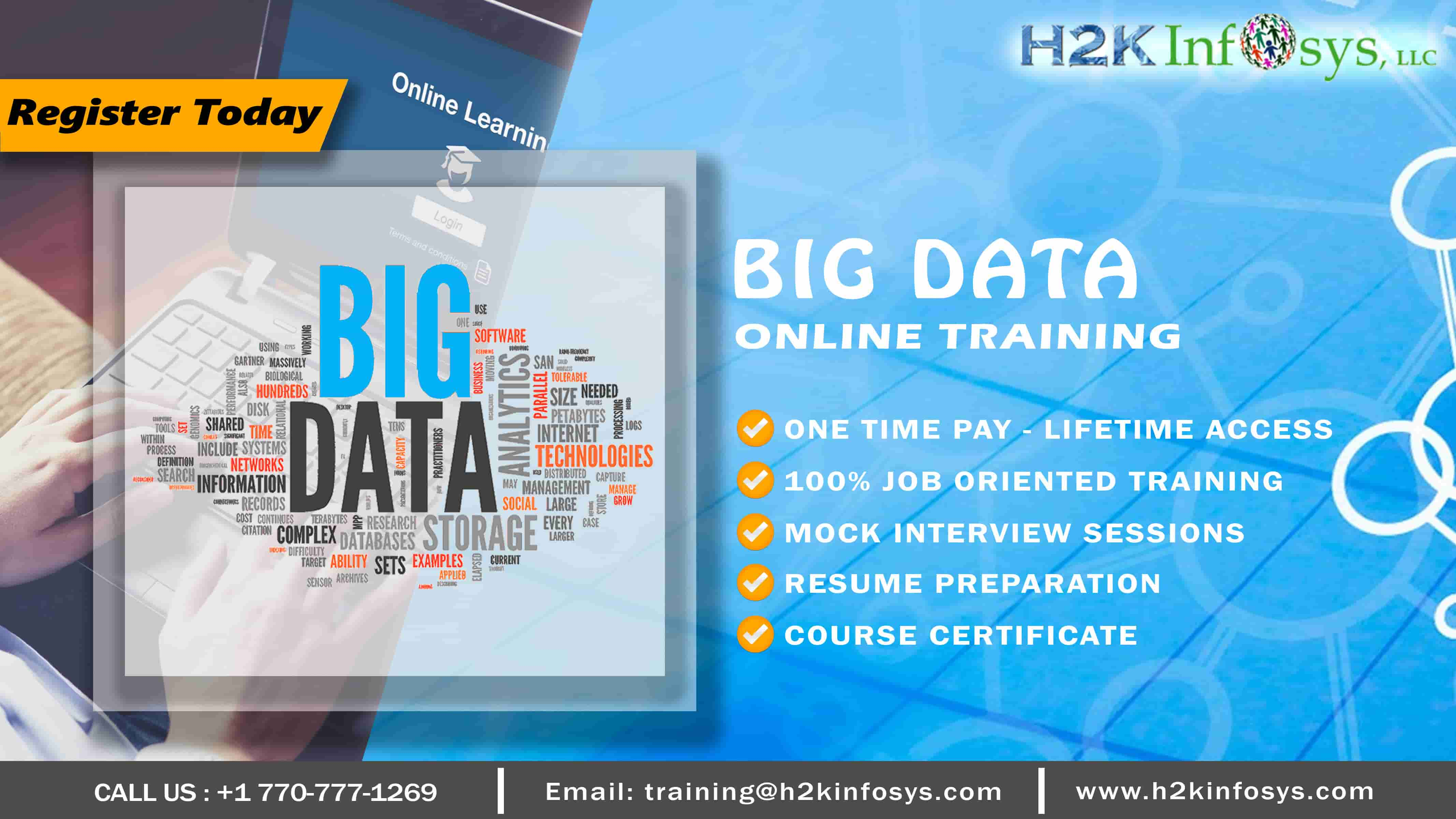 Bigdata Online Course with Placements Assistance