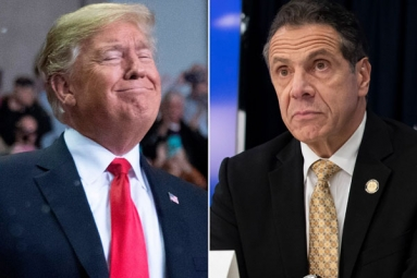 President Trump plays misleading clippings from Cuomo in press briefings